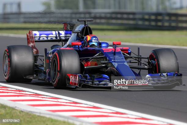 Carlos Sainz during day two of F1 in season testing at Hungaroring on August 2 2017 in Budapest Hungary