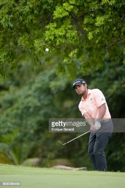 Carlos Sainz Jr during the final round of the PGA TOUR Latinoamerica BMW Jamaica Classic at Cinnamon Hill Golf Course on June 18 2017 in Montego Bay...