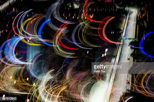 Carlos Sainz of Scuderia Toro Rosso and Spain during qualifying for the Formula One Grand Prix of Singapore at Marina Bay Street Circuit on September...