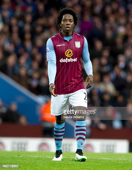 Carlos Sanchez of Aston Villa during the Barclays Premier League match between Aston Villa and Manchester United at Villa Park on December 20 2014 in...