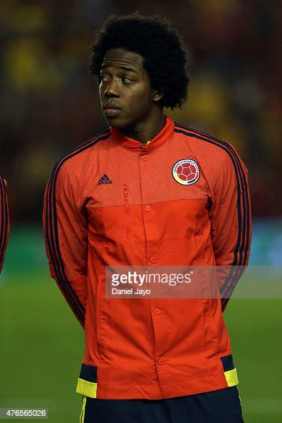 Carlos Sanchez of Colombia before a friendly match between Colombia and Costa Rica at Diego Armando Maradona Stadium on June 06 2015 in Buenos Aires...