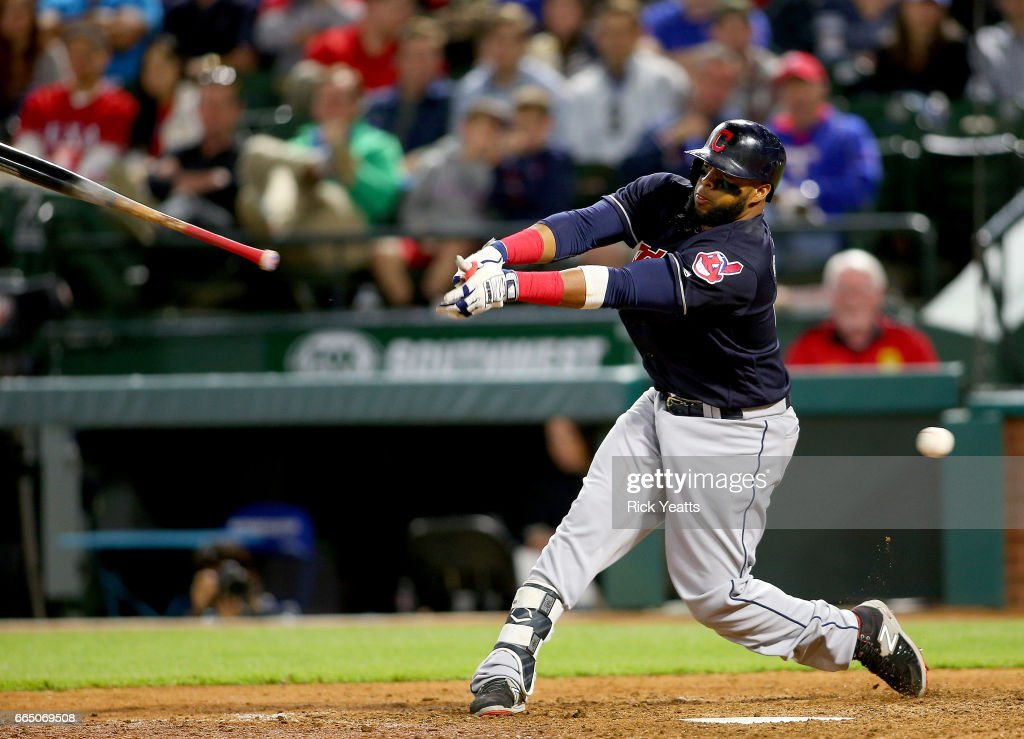 Cleveland Indians v Texas Rangers