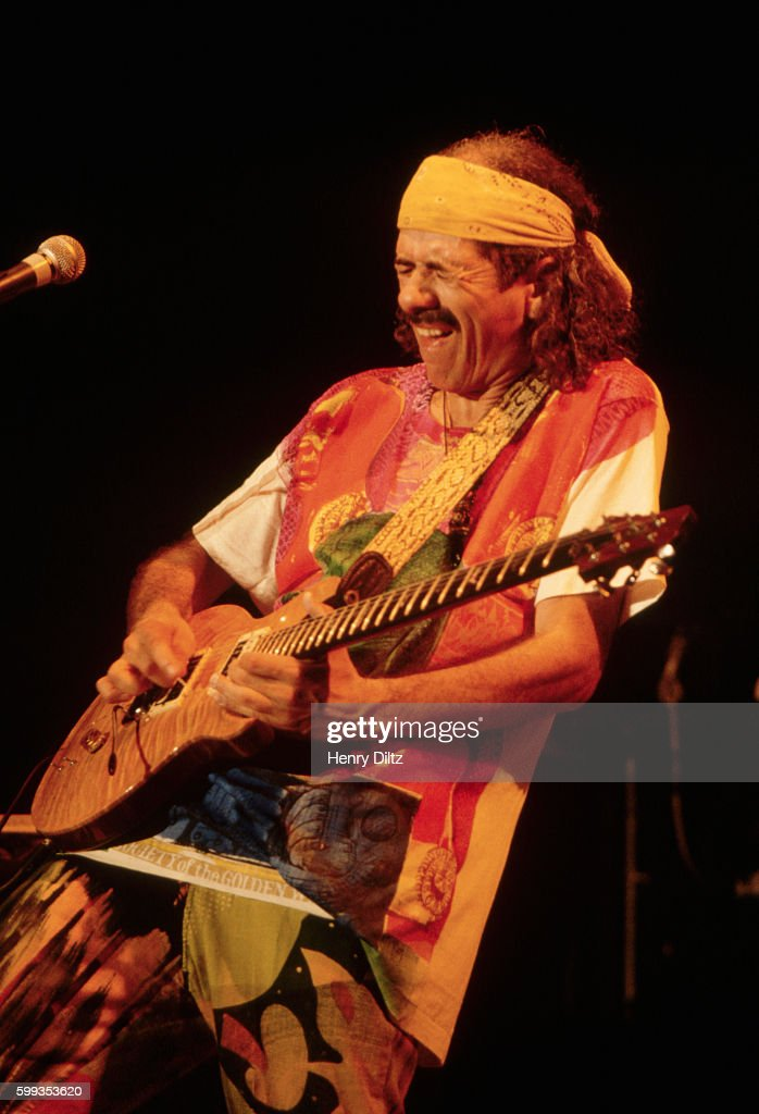 Carlos Santana Playing with Intensity