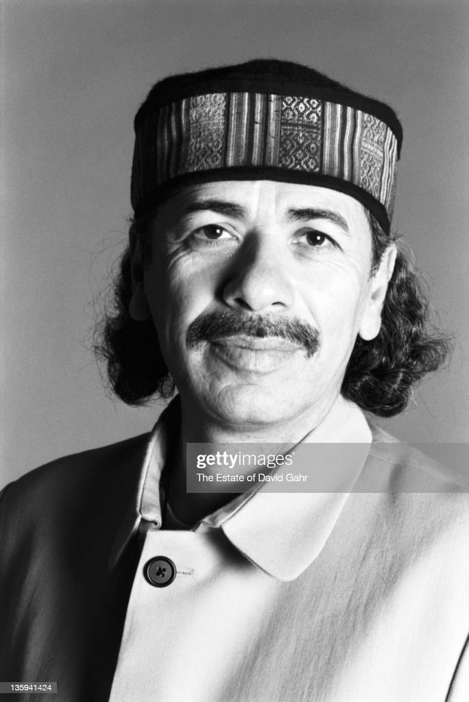 Carlos Santana poses for a portrait in October 1996 in New York City, New York.