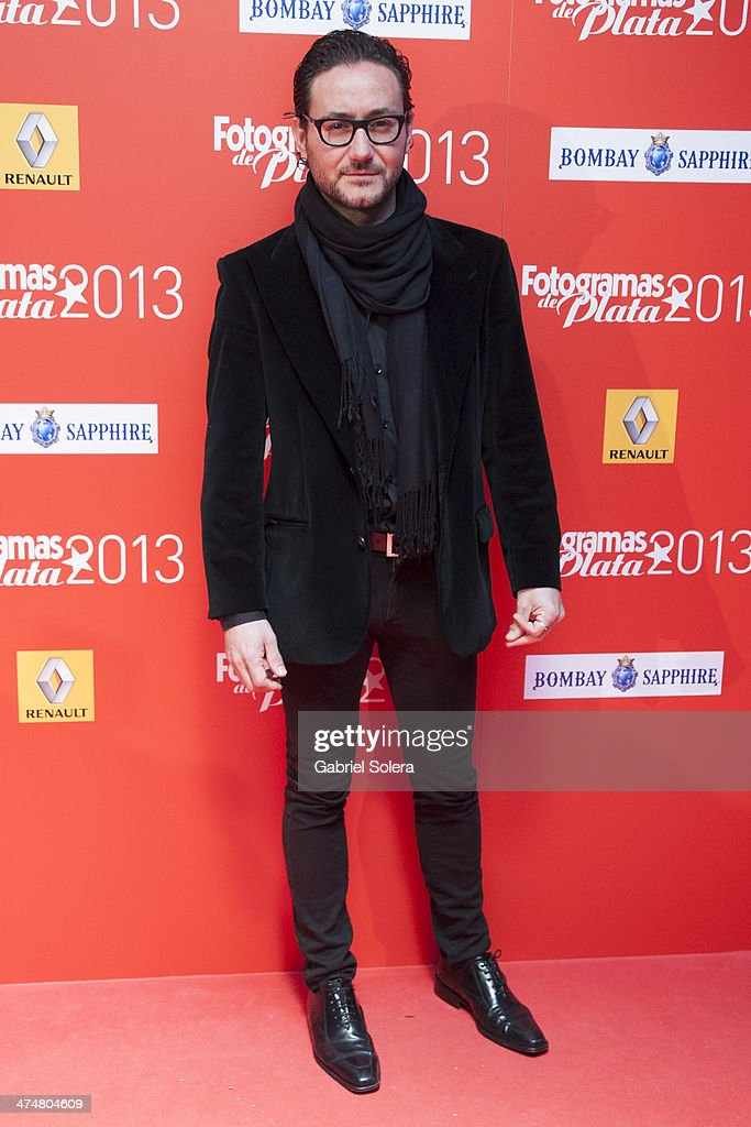 Carlos Santos attends the 'Fotogramas Awards' 2013 at Joy Slava on February 24, 2014 in Madrid, Spain.