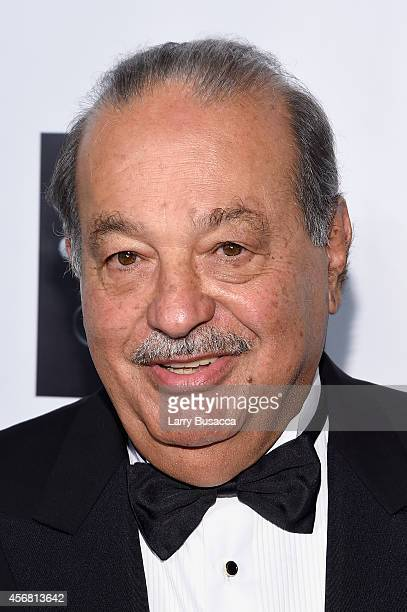 Carlos Slim attends the Friars Foundation Gala honoring Robert De Niro and Carlos Slim at The Waldorf=Astoria on October 7 2014 in New York City
