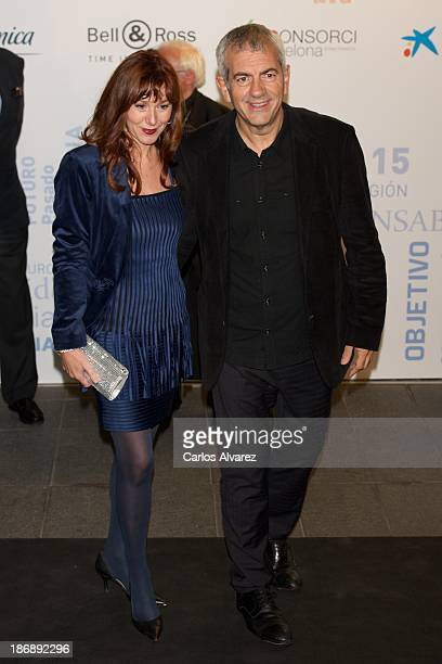 Carlos Sobera and wife Patricia Santamaria attend 'La Razon' Newspaper 15th Anniversary on November 4 2013 in Madrid Spain