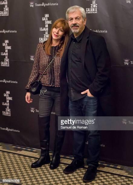 Carlos Sobre attends 'Una Gata Sobre Un Tejado de Zinc Caliente' Madrid Premiere on March 23 2017 in Madrid Spain