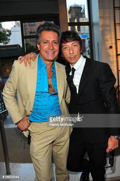 Carlos Souza and Pier Paolo Piccioli attend VALENTINO hosts Carlos Mota book launch 'Flowers Chic and Cheap' at Valentino on May 4 2010 in New York...