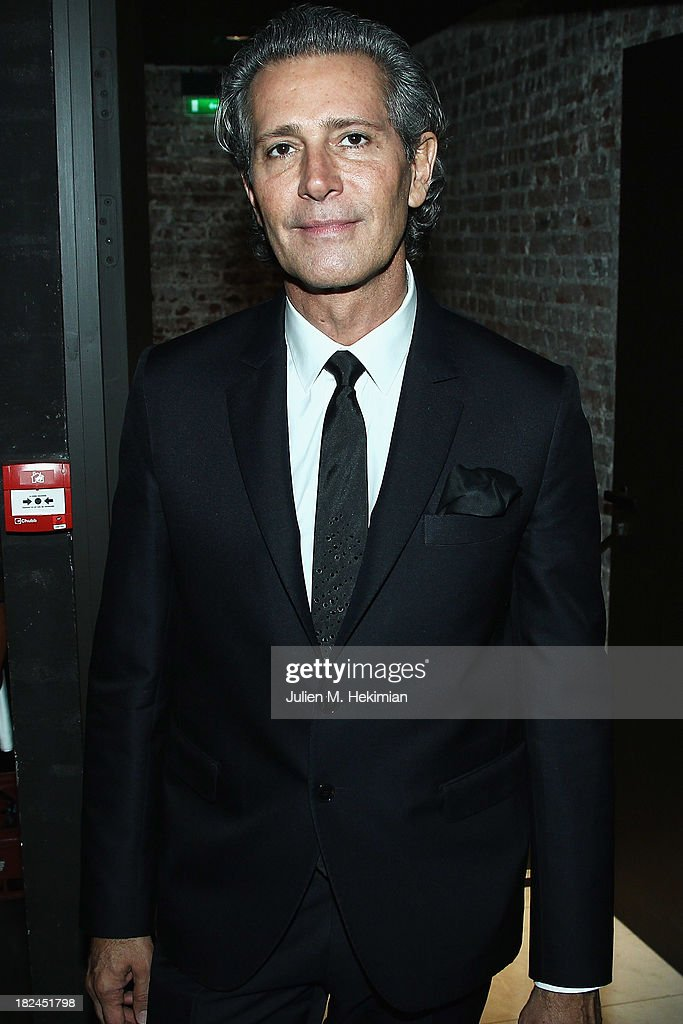 Carlos Souza attends the Glamour dinner for Patrick Demarchelier as part of the Paris Fashion Week Womenswear Spring/Summer 2014 at Monsieur Bleu restaurant on September 29, 2013 in Paris, France.