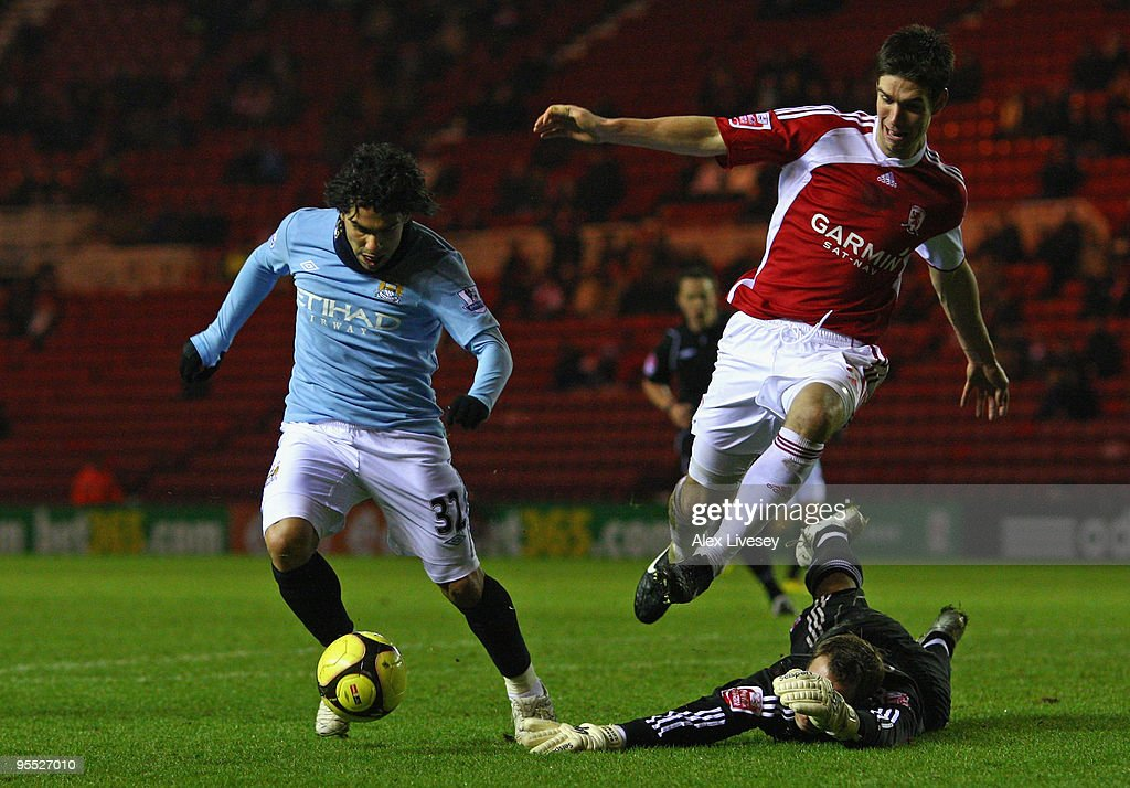 Middlesbrough v Manchester City - FA Cup 3rd Round