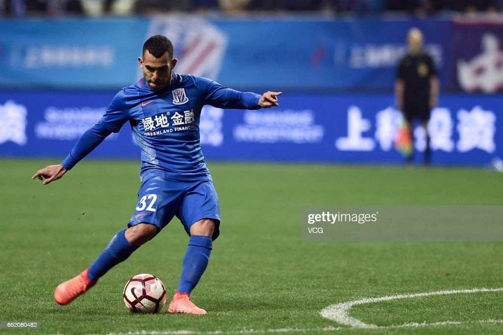 Shanghai Shenhua v Tianjin Quanjian - China Super League : News Photo
