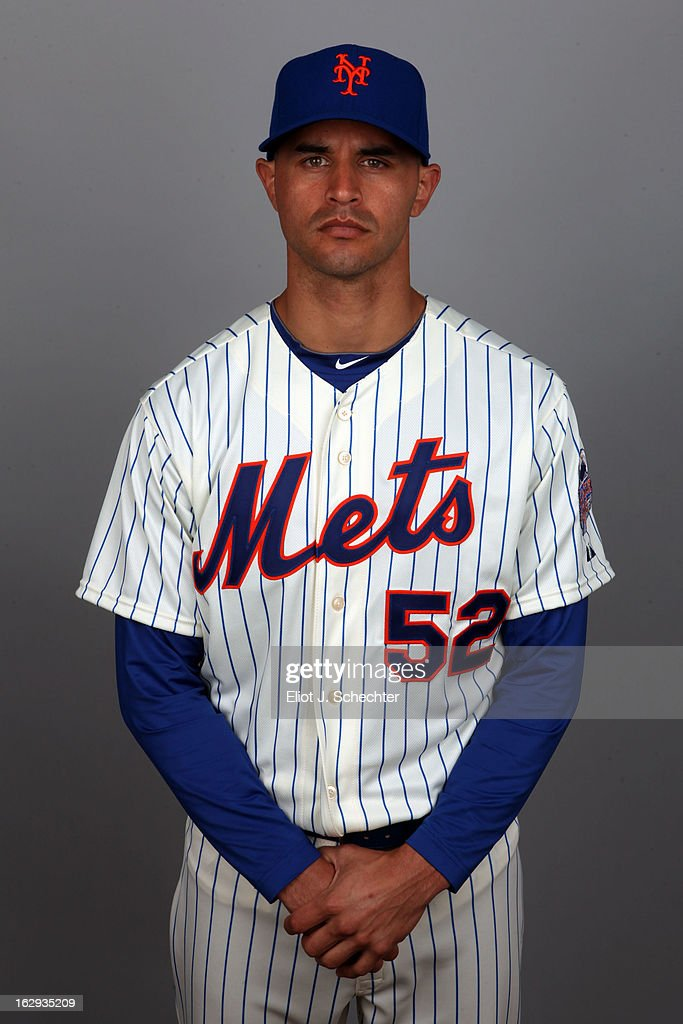 Carlos Torres #52 of the New York Mets poses during Photo Day on February 21, 2013 at Mets Stadium in Port St. Lucie, Florida.