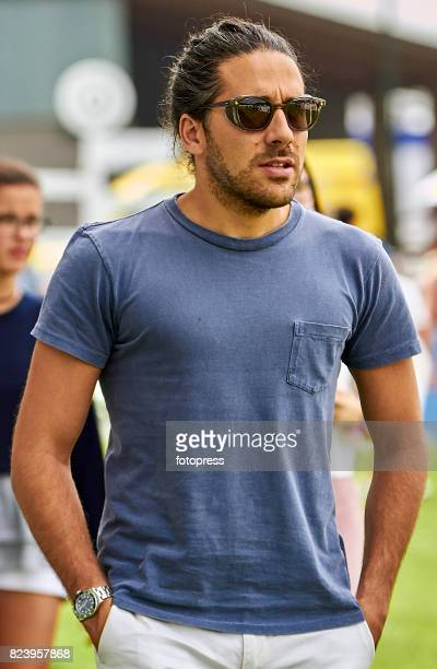 Carlos Torretta attends during CSI Casas Novas Horse Jumping Competition on July 28 2017 in A Coruna Spain