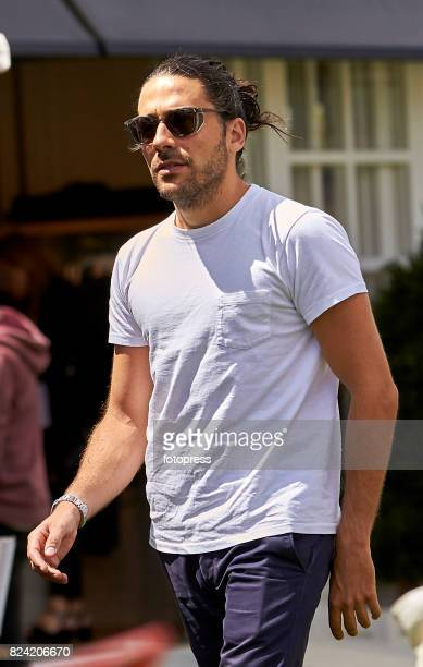 Carlos Torretta attends during CSI Casas Novas Horse Jumping Competition on July 29 2017 in A Coruna Spain