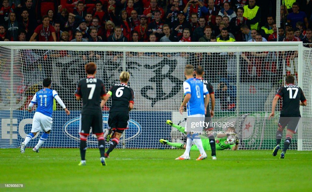 Bayer Leverkusen v Real Sociedad de Futbol - UEFA Champions League