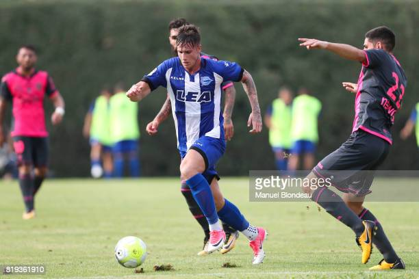 Carlos Vigaray of Alaves during the friendly match between Toulouse FC and Deportivo Alaves on July 19 2017 in Saint Jean de Luz France