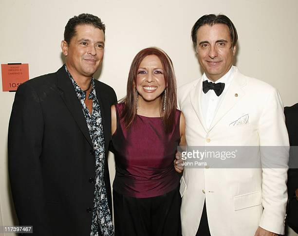 Carlos Vives Albita and Andy Garcia