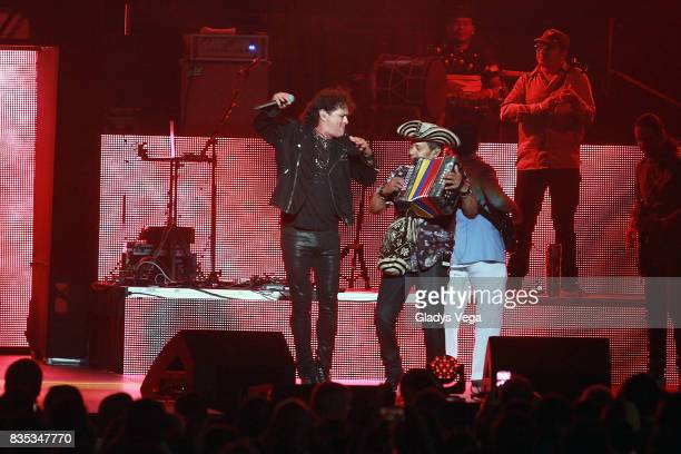 Carlos Vives performs at Coliseo Jose Miguel Agrelot on August 18 2017 in San Juan Puerto Rico