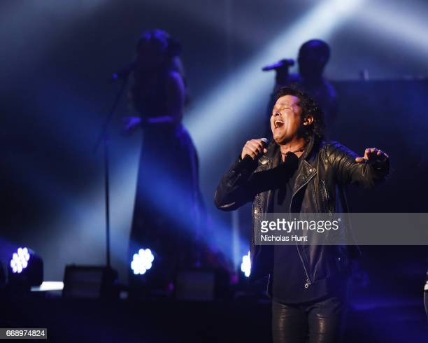 Carlos Vives performs at Radio City Music Hall on April 15 2017 in New York City