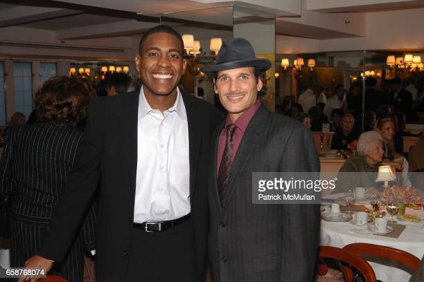 Carlos Watson and Phillip Bloch attend Andre Leon Talley and Robert Burke host at La Caravelle for Loulou de la Falaise Collection on February 12 2004