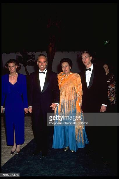 Carlos Zurita Duke of Soria his wife Infanta Margarita 2nd Duchess of Hernani and their children Alfonso Juan Carlos and María Sofia Emilia Carmen...