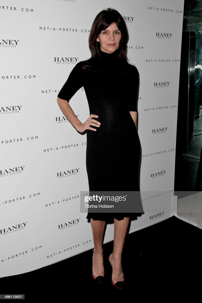Carlota Espinosa attends the Haney Pret-A-Couture launch hosted by Net-A-Porter at mmhhmmm at The Standard, Hollywood on January 30, 2014 in West Hollywood, California.