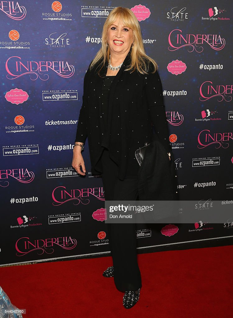 Carlotta arrives ahead of opening night of Cinderella at State Theatre on July 1, 2016 in Sydney, Australia.