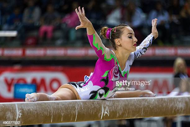 Carlotta Ferlito during Absolute Italian Championships of Artistic Gymnastics 2015 at Palavela of Turin