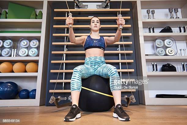 Carlotta Ferlito Technogym Ambassador training for Rio 2016 Olympic Games