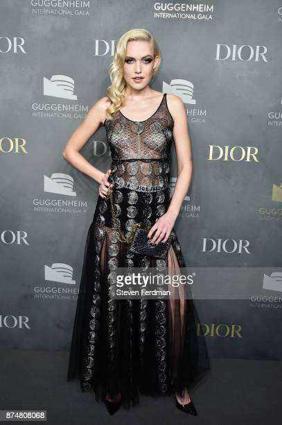 Carlotta Kohl attends the 2017 Guggenheim International Gala PreParty made possible by Dior on November 15 2017 in New York City