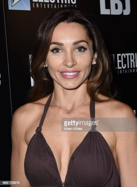 Carlotta Montanari attends the Los Angeles Premiere of LBJ at ArcLight Hollywood on October 24 2017 in Hollywood California