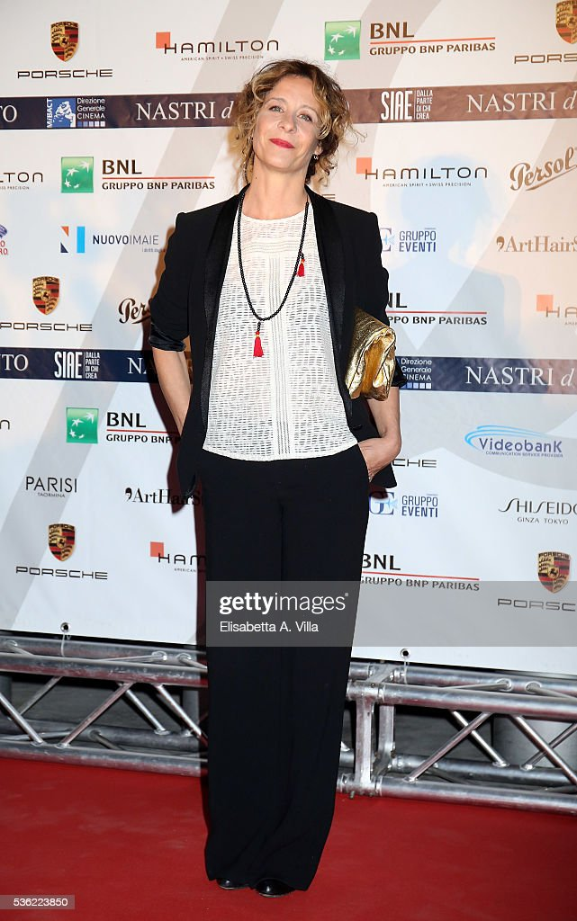 Carlotta Natoli attends Nastri D'Argento 2016 Award Nominations at Maxxi on May 31, 2016 in Rome, Italy.