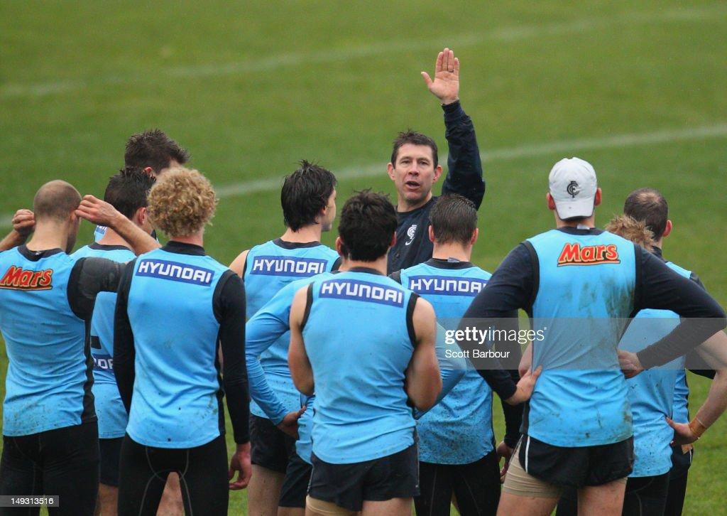 Carlton FC Training Session