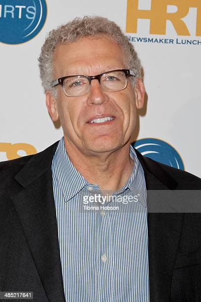 Carlton Cuse attends the Hollywood Radio and Television Society's annual hitmakers panel at the Beverly Hilton Hotel on April 16 2014 in Beverly...