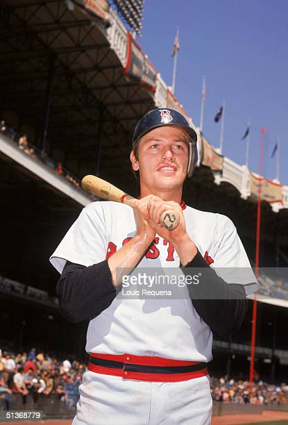 Carlton Fisk of the Boston Red Sox poses for a portrait Carlton Fisk played for the Boston Red Sox from 19691980