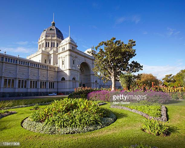 Carlton Gardens and Royal exhibiton building