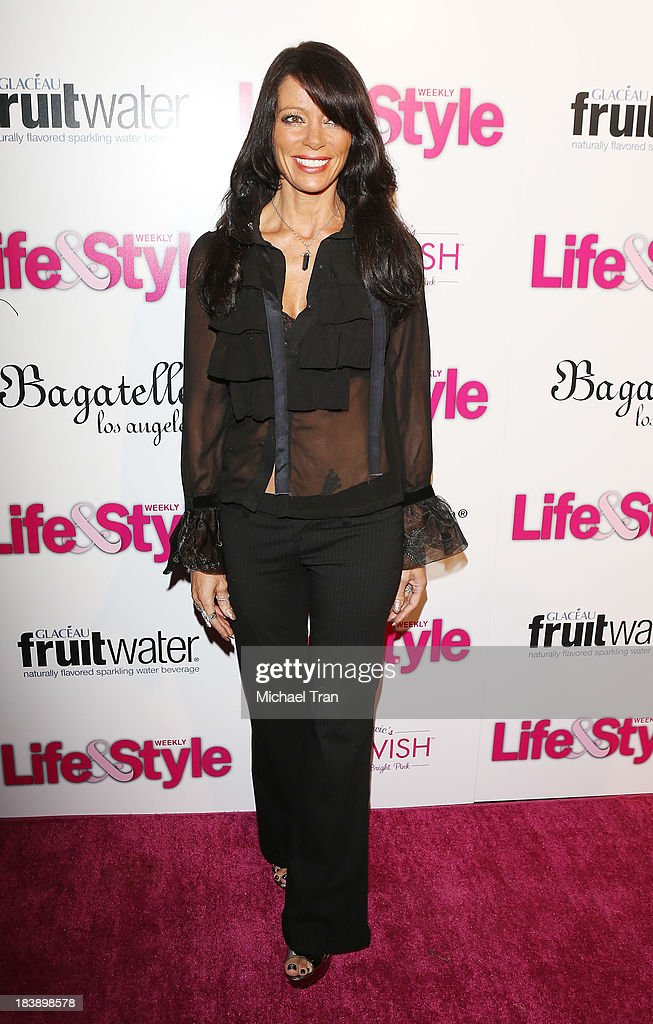 Carlton Gebbia arrives at Life & Style presents 'Hollywood In Bright Pink' held at Bagatelle on October 9, 2013 in Los Angeles, California.