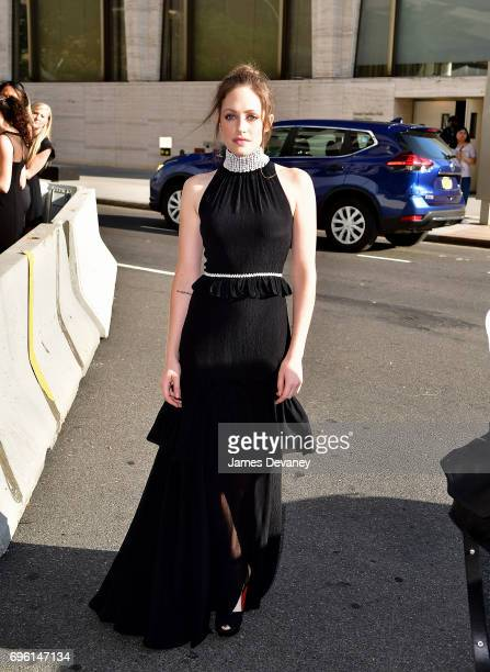 Carly Chaikin arrives to the 2017 Fragrance Foundation Awards at Alice Tully Hall on June 14 2017 in New York City