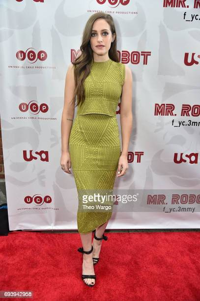 Carly Chaikin attends a 'Mr Robot' FYC Screening at The Metrograph on June 8 2017 in New York City