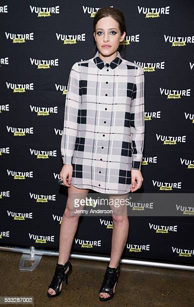 Carly Chaikin attends Inside Mr Robot at the 2016 Vulture Festival at Milk Studios on May 21 2016 in New York City