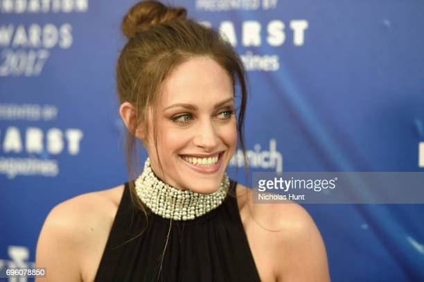 Carly Chaikin attends the 2017 Fragrance Foundation Awards Presented By Hearst Magazines at Alice Tully Hall on June 14 2017 in New York City