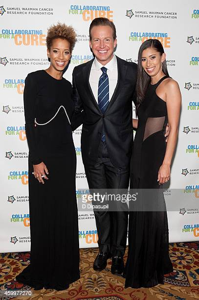 Carly Cushnie Chris Wragge and Michelle Ochs attend the 17th Annual Samuel Waxman Cancer Research Foundation's Collaborating For A Cure Benefit...