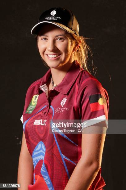 Carly Fuller of Queensland poses for a head shot on February 8 2017 in Alice Springs Australia