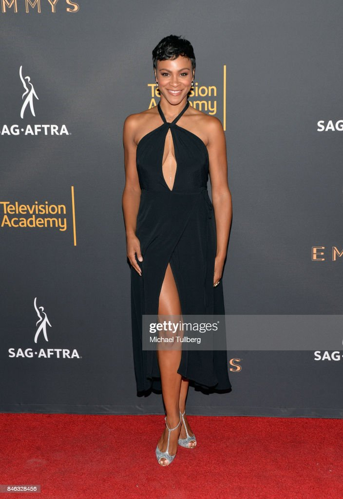 Carly Hughes attends the Television Academy and SAG-AFTRA's 5th annual Dynamic and Diverse Celebration at Saban Media Center on September 12, 2017 in North Hollywood, California.