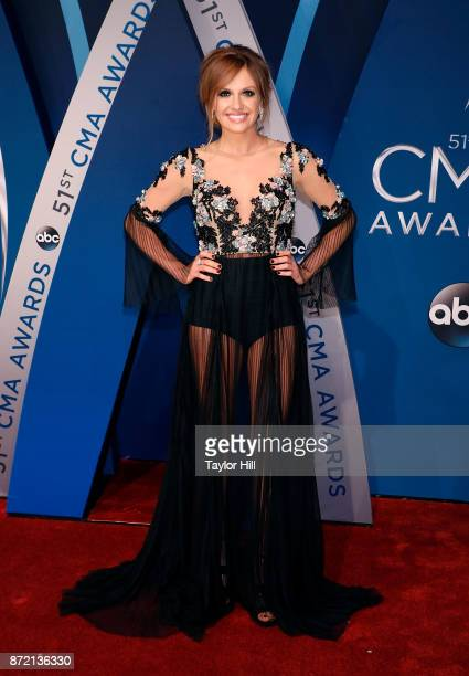 Carly Pearce attends the 51st annual CMA Awards at the Bridgestone Arena on November 8 2017 in Nashville Tennessee