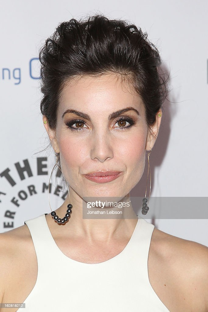 Carly Pope arrives to The Paley Center Honors Ryan Murphy With Inaugural PaleyFest Icon Award at The Paley Center for Media on February 27, 2013 in Beverly Hills, California.