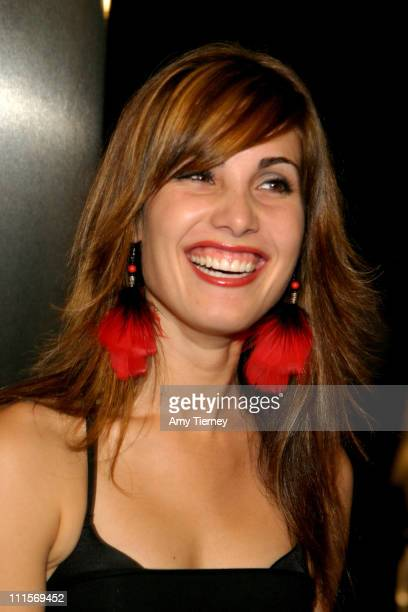 Carly Pope during AFI Fest 2005 'The World's Fastest Indian' Los Angeles Premiere Arrivals at ArcLight Hollywood Cinerama Dome in Los Angeles...