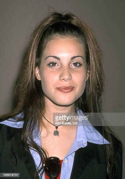 Carly Pope during WB's 1999 Summer Press Tour at RitzCarlton Hotel in Pasadena California United States