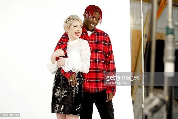 Carly Rae Jepsen and Lil Yachty OnSet with Target for 'It Takes Two' Remake and Commercial to Air During 59th Annual Grammy Awards on January 23 2017...